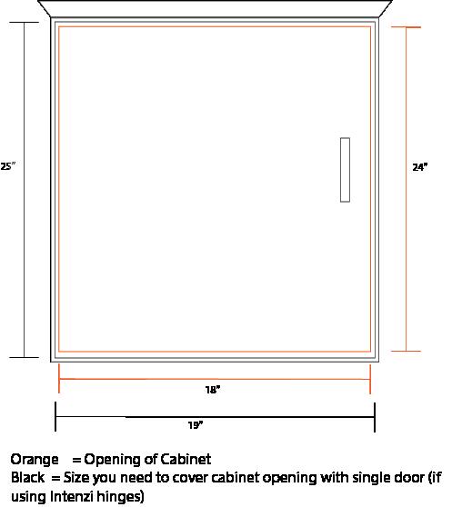 Single Door Diagram